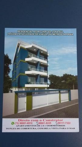 Apartamento perto da Faculdade de Ilhéus e Praia dos Milionários