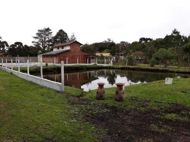 Chácara de cinema/piscina/825m2/área construída/600m/BR 376/ 35km de/SJP/R$1.335.000, - Foto 15