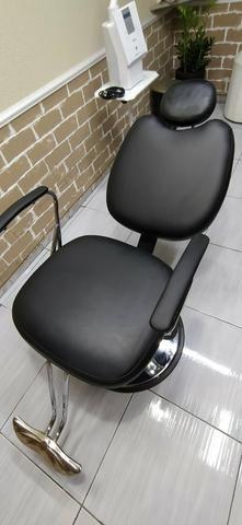 Cadeira hidráulica reclinável Topázio - Foto 2