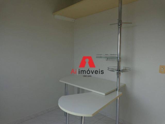 Apartamento com 3 dormitórios para alugar, 82 m² por r$ 1.850,00/mês - 7º bec - rio branco - Foto 11