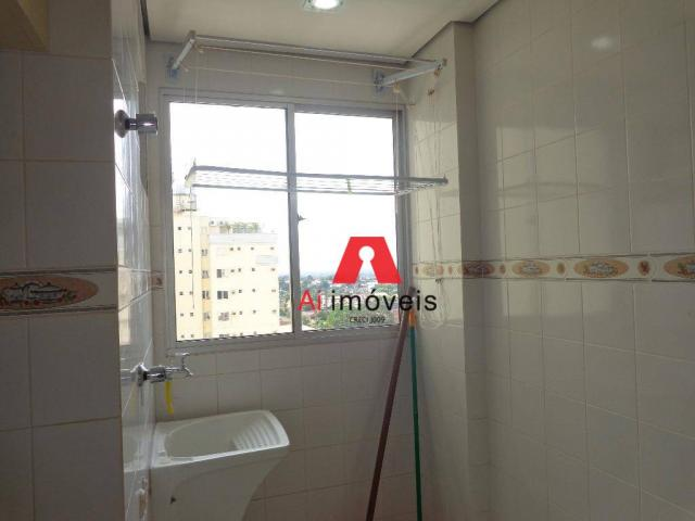 Apartamento com 3 dormitórios para alugar, 82 m² por r$ 1.850,00/mês - 7º bec - rio branco - Foto 6