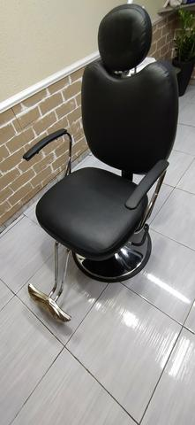 Cadeira hidráulica reclinável Topázio