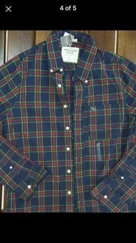Camisa xadrez Abercrombie - Foto 3