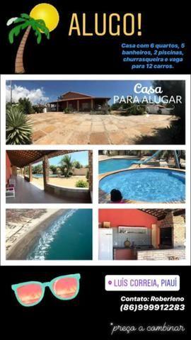 Casa de praia em Luís Correia Pi
