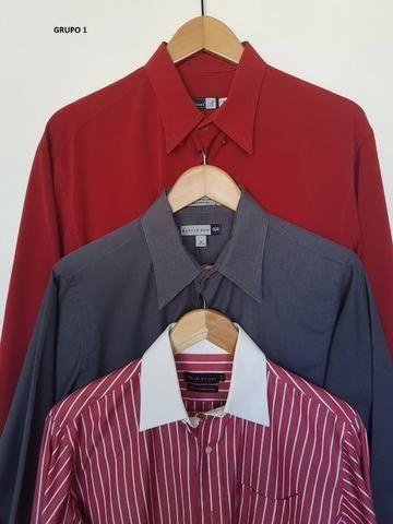 e709c36754a Lote de camisas masculinas de boa qualidade