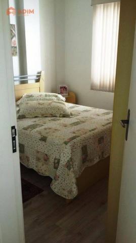 Apartamento 2 dormitórios, mobiliado, 01 vaga privativa no Edifício Spezia, Centro de Baln - Foto 7