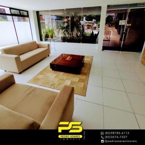 Apartamento com 3 dormitórios à venda, 90 m² por R$ 399.000,00 - Bessa - João Pessoa/PB - Foto 8