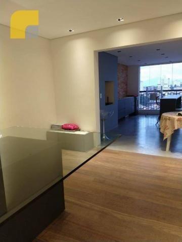 Apartamento amplo com 3 suítes e 3 vagas à venda, 182 m² por R$ 1.300.000 - Vila Rosália - - Foto 6
