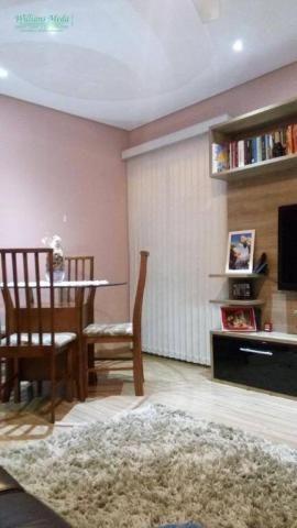 Apartamento com 2 dormitórios à venda, 50 m² por R$ 250.000 - Parque Maria Helena - Guarul - Foto 2