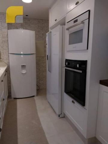 Apartamento amplo com 3 suítes e 3 vagas à venda, 182 m² por R$ 1.300.000 - Vila Rosália - - Foto 4
