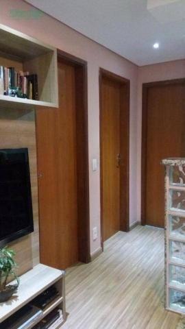 Apartamento com 2 dormitórios à venda, 50 m² por R$ 250.000 - Parque Maria Helena - Guarul - Foto 5
