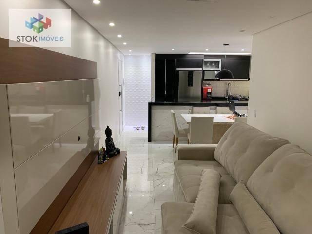 Apartamento com 3 dormitórios à venda, 83 m² por R$ 605.000 - Jardim Flor da Montanha - Gu - Foto 9
