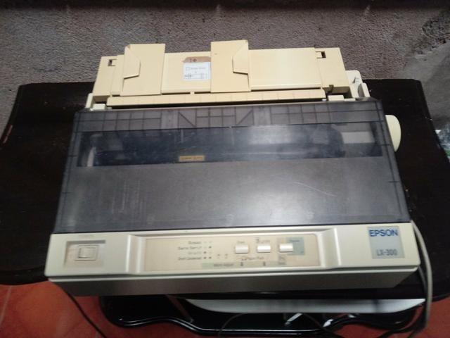 Impressora epson lx 300 - usada