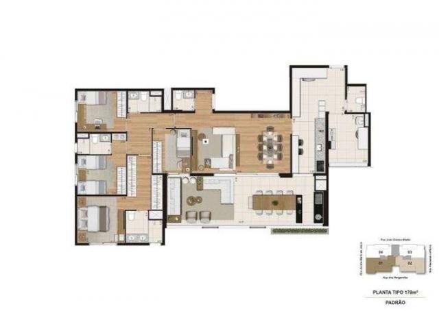 Quartier Brooklin - 137m² - Brooklin, SP - ID17646 - Foto 11