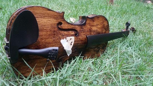 Violino 4/4 antigo restaurado - Foto 2