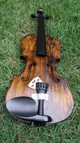 Violino 4/4 antigo restaurado
