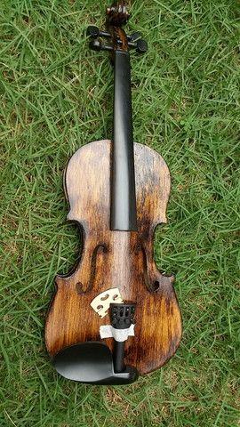 Violino 4/4 antigo restaurado - Foto 4