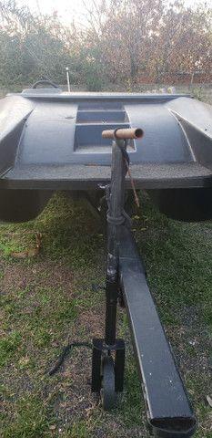 Lancha catamarã 8 pessoas casco - Foto 5