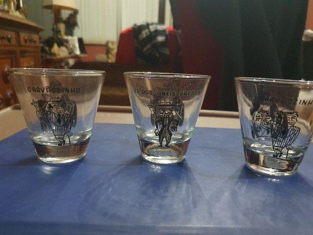 3 copos da Bardahl Para Shot Promocional Anos 60 Colecionável - Foto 6