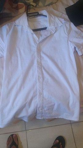 Camisa Social tamanho P - Pargan  - Foto 2