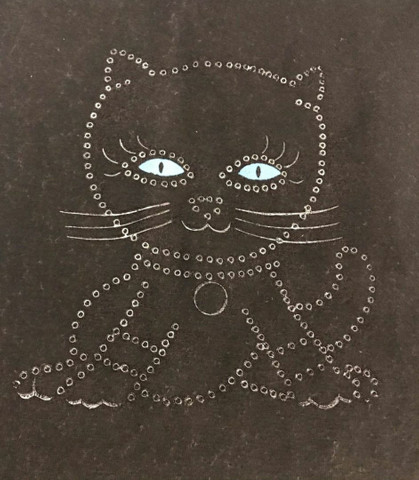 Camiseta De Malha Feminina com estampa de gata - Foto 3