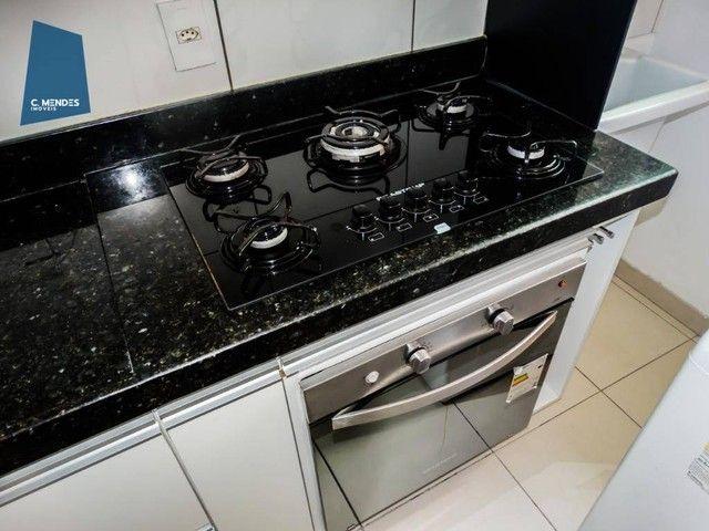 Apartamento com 3 dormitórios à venda, 60 m² por R$ 440.000,00 - Fátima - Fortaleza/CE - Foto 6