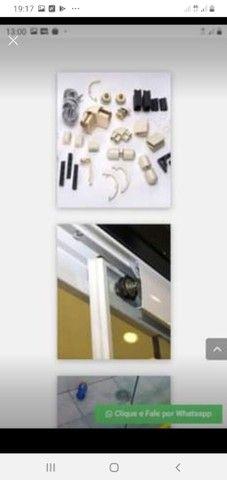 Fasso manutenção é vedações em todo tipo de vidro temperado  - Foto 3