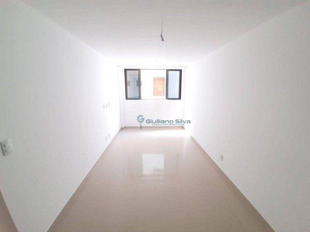 CÓD:AP0386- Apto novo no Bessa, 1° andar, posição: Nascente, 37,72m², 1 quarto, sala, wc s - Foto 5