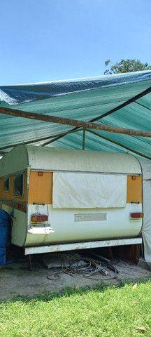 Vende-se trailer Turiscar Imperial Luxo 1982 - Foto 6