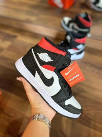 Atacado Tênis Botinha Nike Air Jordan Estilosa Confortável - Foto 5