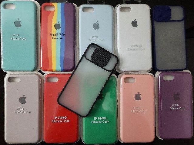 Case e pelicula para iPhone - Samsung - Xiaomi