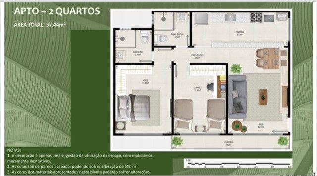 Apartamento com suíte -1ª locação  - Foto 4