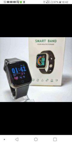 smartwatch y68 com frete grátis pra Rio das ostras e Macaé de segunda a sexta. - Foto 2