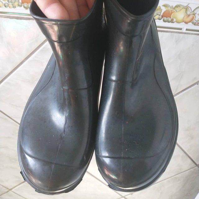 Bota sapato N 37,Cano curto,Borracha,Crival,NOVA/ACEITO TROCA - Foto 5