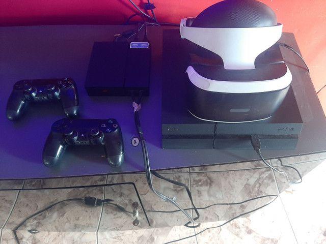 PS4 + VR + JOGOS R$ 3.100 - Foto 2