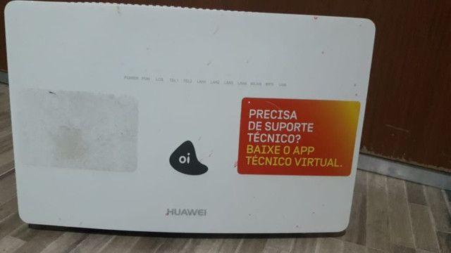 Roteador Huawei Fibra Ótica