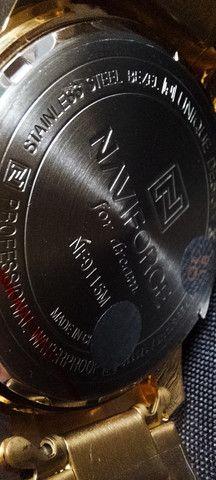 Relógio Dourado Naviforce NF9115M - Foto 6