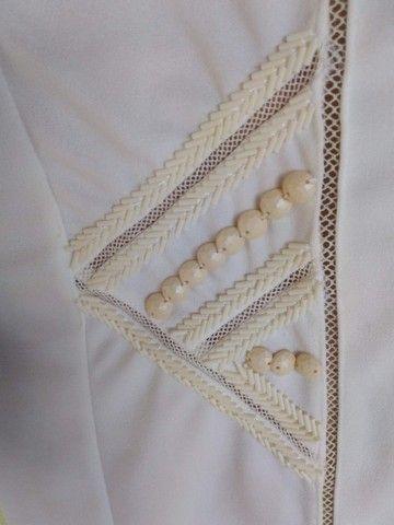 Vestido Branco Audiovisual - Foto 3