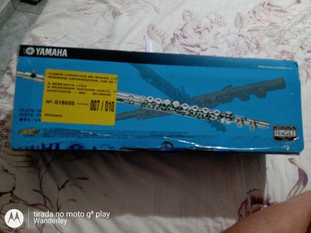 Flauta Yamaha novinha . - Foto 4