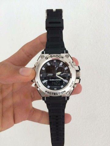 Relógio G-Shock Caixa de aço A prova d'água.  - Foto 2
