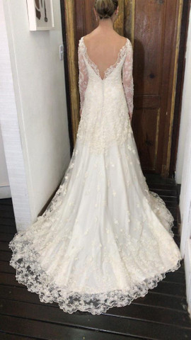 Vestido de noiva Carol Hungria  - Foto 4