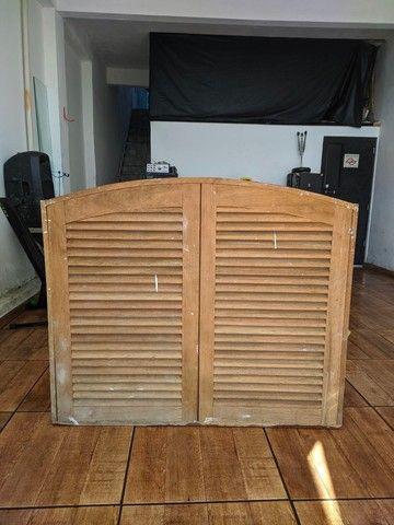 Porta e janelas de madeira  - Foto 4