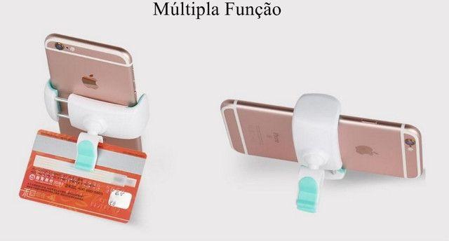 Suporte Veicular para Celular Antiaderente Almofada de Silicone - Foto 3