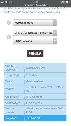 Mercedes Bens 1.8 Tb 2012 impecável  - Foto 6