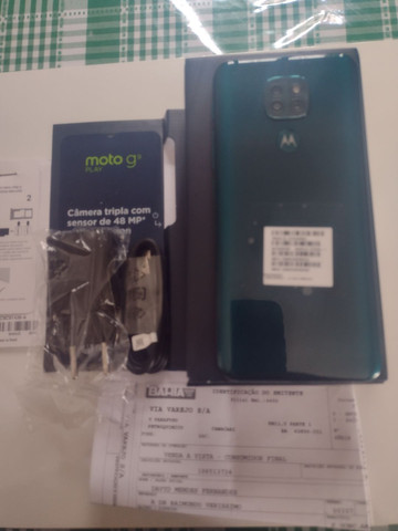 Moto g 9 play completo
