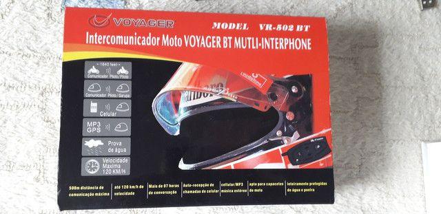 Intercomunicador Moto Voyager BT Multi-Interphone - Foto 6