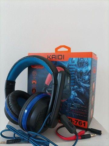 Fone Headset Kaidi-761 - Foto 2