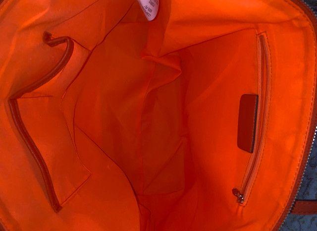 Bolsa Jorge Alex nova laranja grande  - Foto 3
