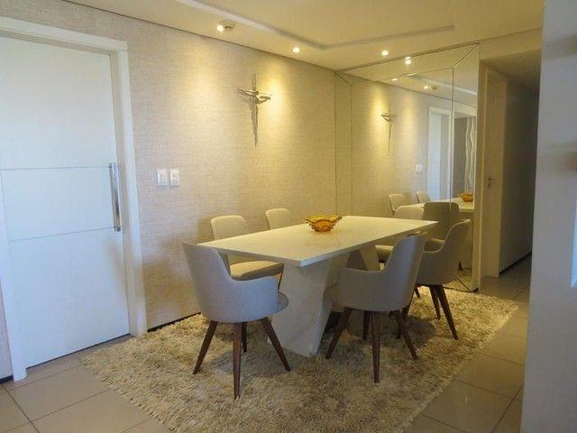 Apartamento três suítes, projetado, andar privilegiado! - Foto 2