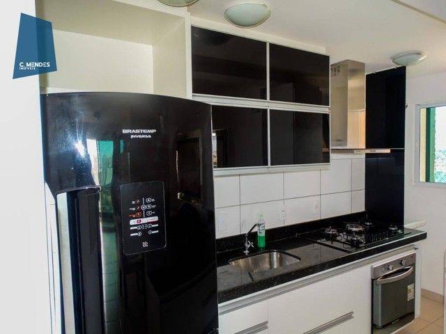 Apartamento com 3 dormitórios à venda, 60 m² por R$ 440.000,00 - Fátima - Fortaleza/CE - Foto 5